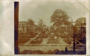 Aufnahme des Ehrenfriedhofs des Jäger-Bataillons 11 in Billy.