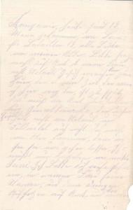 Heinrich Echtermeyer an seinen Bruder Bernhard, vom 26. Mai 1916; zweite Seite.